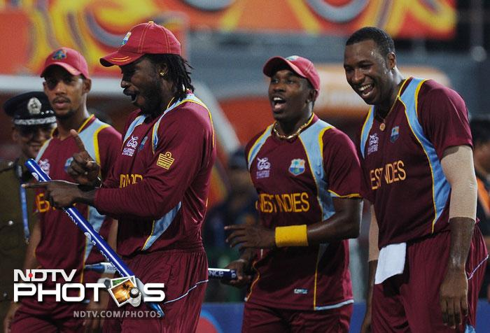 Some might term it as an arrogant remark but if you are Christopher Henry Gayle then it's the proverbial Jamaican swagger.<br> <br> He butchered the Aussie bowlers with clinical efficiency and ensured that his side has an unbeatable score to defend as he scored a swashbuckling 75 off only 41 balls to power his side to a imposing 205 for 4.