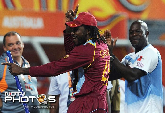 Chris Gayle surprised one and all with his prophetic tweet after the first semi-final that Sri Lanka will play the West Indies in Sunday's final but he took it upon himself to ensure that he lived up to his remark.