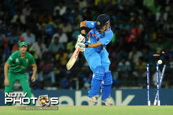 Put into bat, India lost Gautam Gambhir early to Morne Morkel and the hopes of a good start were dashed.