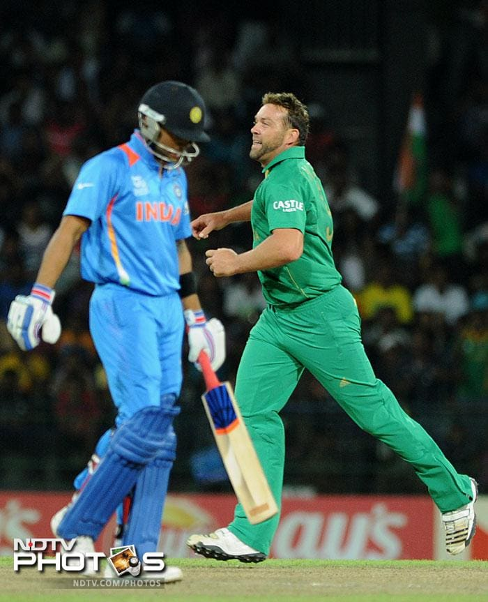 Jacques Kallis removed Virat Kohli for just 2 and India were in deep trouble with their best batsman back in the pavilion.