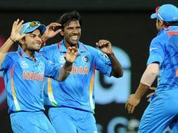 Photo : World T20: India win, but still go home