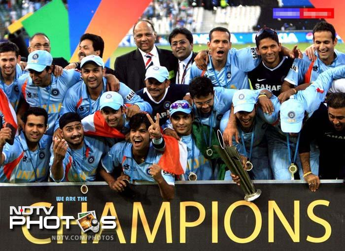 It's been five years since India lifted the inaugural World T20 title in 2007. It will be the fourth edition of the Twenty20 Championship this year. And in these four editions, we have witnessed some great moments. Here are the top 10 moments.(AP & AFP Photos)