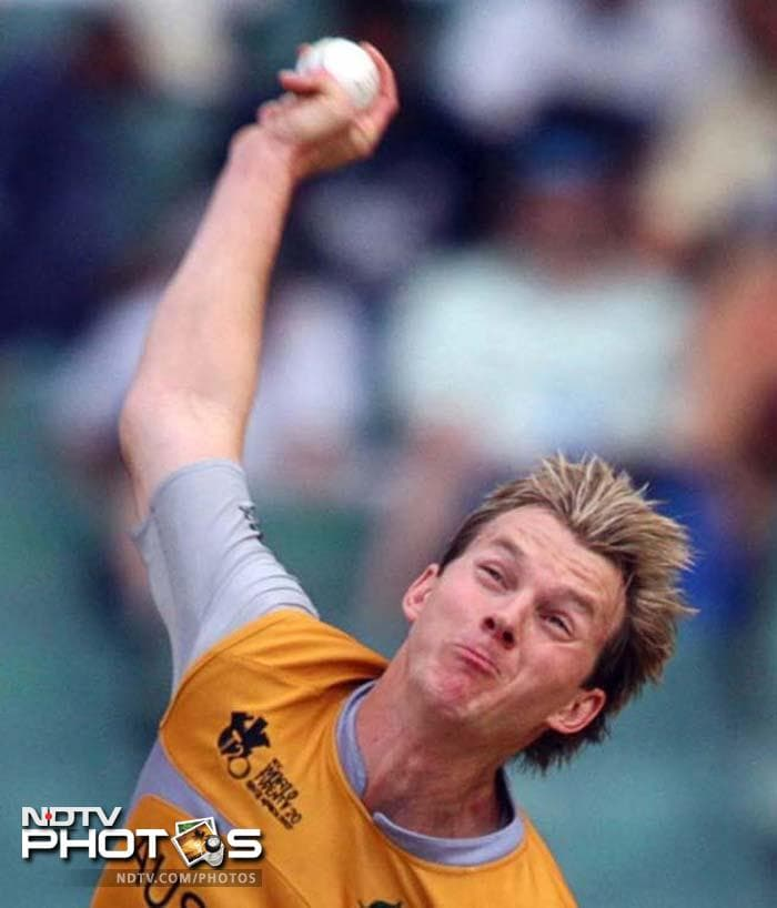<b>Brett Lee's hat-trick:</b> Stung by a humiliating defeat vs Zimbabwe, Australia came down heavily on another minnow - Bangladesh. Australian pacer Brett Lee savaged the Bangla tigers with the first hat-trick of the Twenty20. He dismissed Shakib Al Hasan, Mashrafe Mortaza and Alok Kapali to restrict Bangladesh to 123 runs.