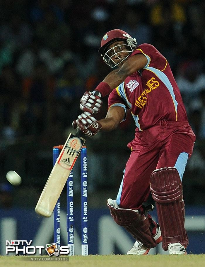 Dwayne Bravo gave the innings the finishing boost it needed as he hit 27 quick runs to help West Indies finish off with a daunting 191/8 in their 20 overs. It would no doubt be a test for the Aussie batting line-up.
