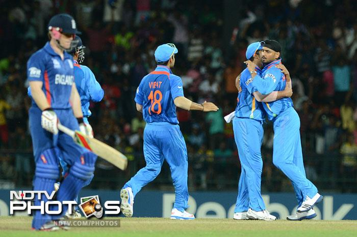 Comeback man Harbhajan Singh gave the Englishmen a grim reminder of why he is known as the 'Turbanator' as they danced to his tune having no clue to his off spinners. He finished with excellent figures of 4 for 12 from 4 overs with 2 maidens.