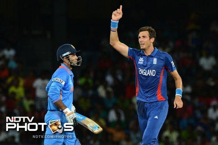 Wtih four changes in their team, India's first experiment failed as the decision to use Irfan Pathan as opener backfired with Steven Finn sending him back to the pavilion early on.
