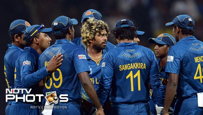 But England could not achieve their objective ending up at 150/9, 20 runs short of victory. Sri Lanka top their group and enter the semifinals ahile England go home. West Indies also make it to the last four courtesy Sri Lanka's victory.