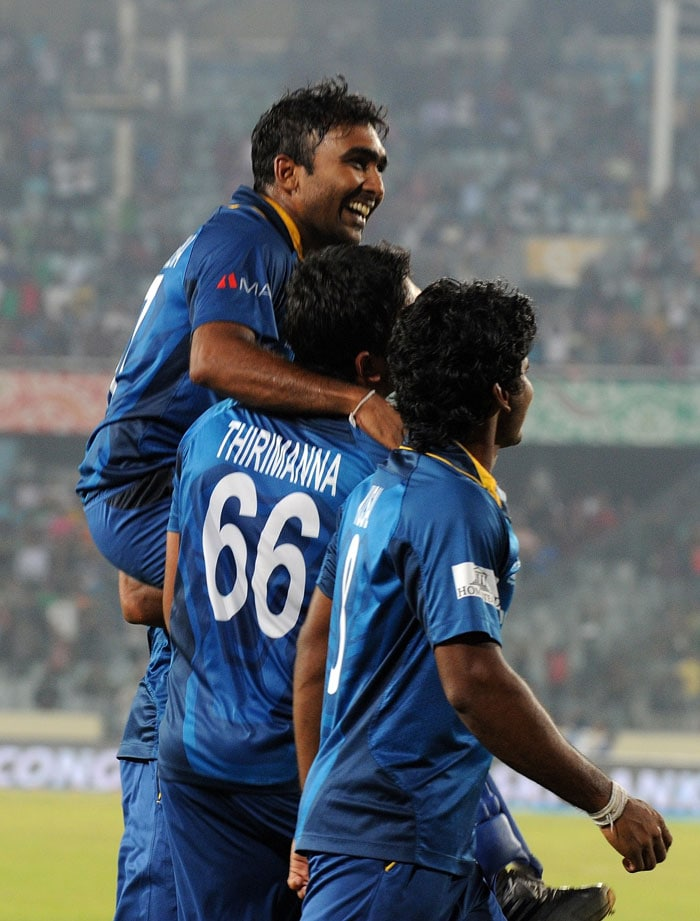 Jayawardene fought back tears as he expressed his gratitude towards the fans back home.