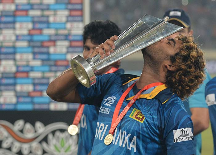 Malinga bowled a phenomenal final over where he gave away just seven runs to restrict India to 130 in their 20 overs.