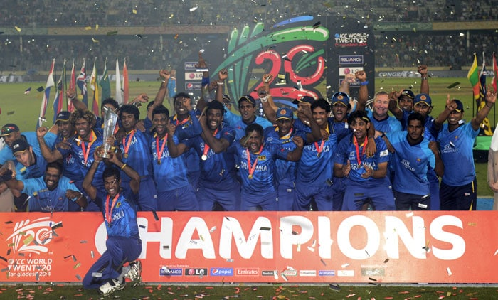 This was Sri Lanka's fifth final in six years and their third out of five World T20s. As Sangakkara said, this moment was long overdue.