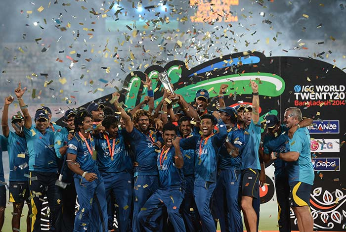 The fifth edition of the World Twenty20 has its fifth winner as Sri Lanka beat MS Dhoni-led India by six wickets to win their maiden T20I title (All images AFP)