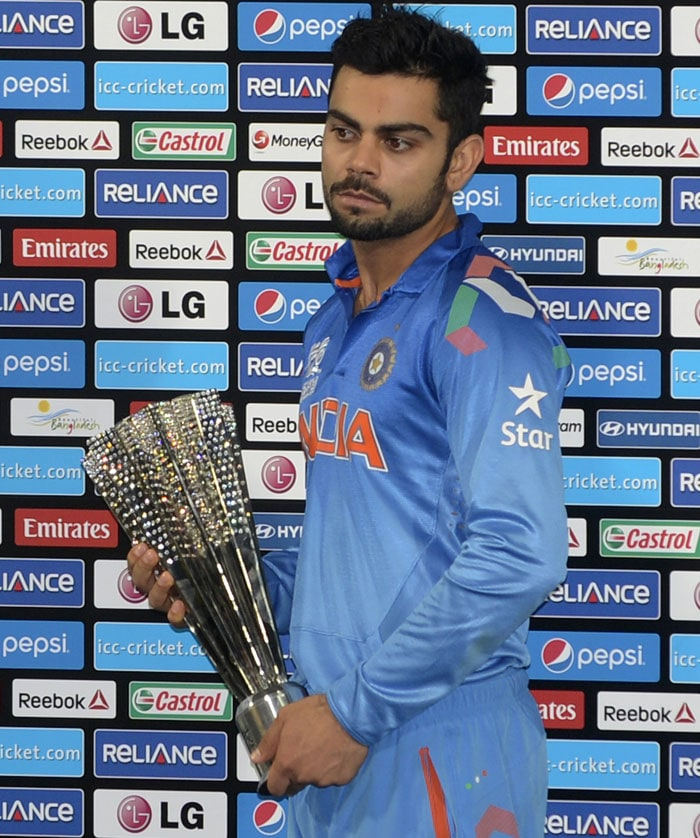 Man of the Tournament Virat Kohli finished with 319 runs in six innings at an average of 106.33. During the post-match presentation, he was gracious to accept that Sri Lanka deserved to be the champions.