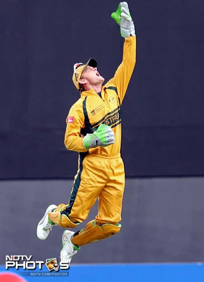 Adam Gilchrist may have long given up international cricket, but the feat of most dismissals by a keeper in a single World T20 still lies with him. Gilly has nine dismissals in his kitty from the 2007 tournament.