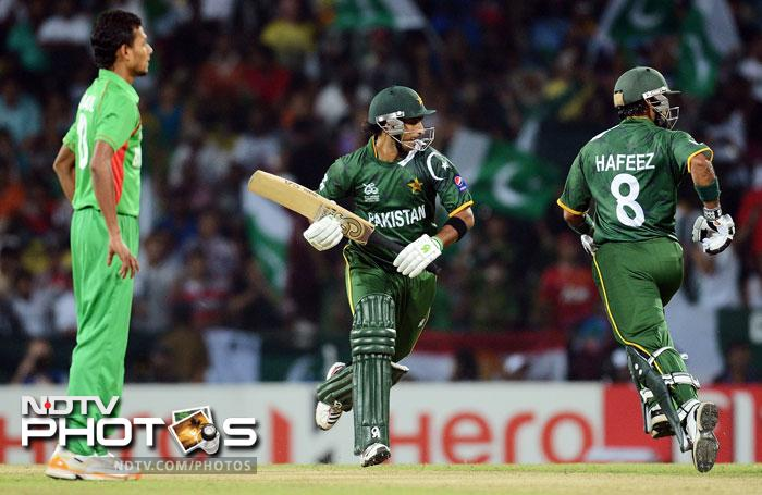 Pakistan ultimately won the match by 8 wickets. Bangladesh will have to rethink their bowling strategy while Pakistan top their Group and now look forward to their first Super Eight encounter with South Africa in Colombo on Friday.