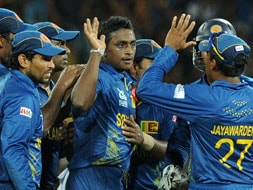 Photo : World T20: Sri Lanka outplay Pakistan, book Final berth