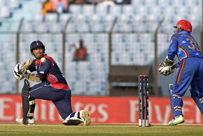 A half-century from Nepal's Subash Khakurel laid the platform for a good total as they reached 141/5 in 20 overs.