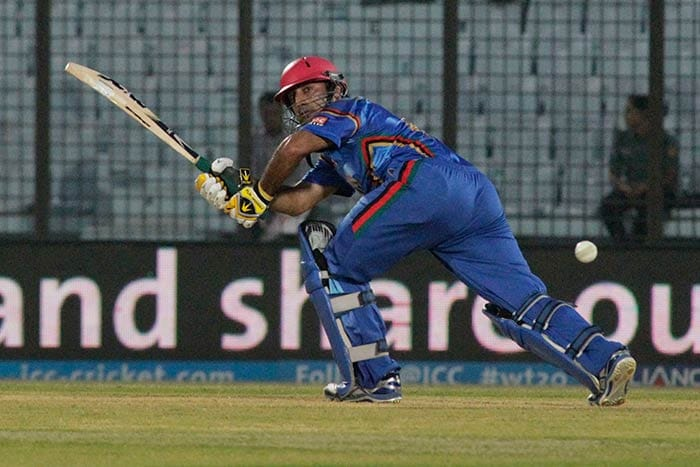 In reply, Afghanistan lost wickets at regular intervals and were down to 50/5. Shafiqullah led the fightback but it wasn't enough.