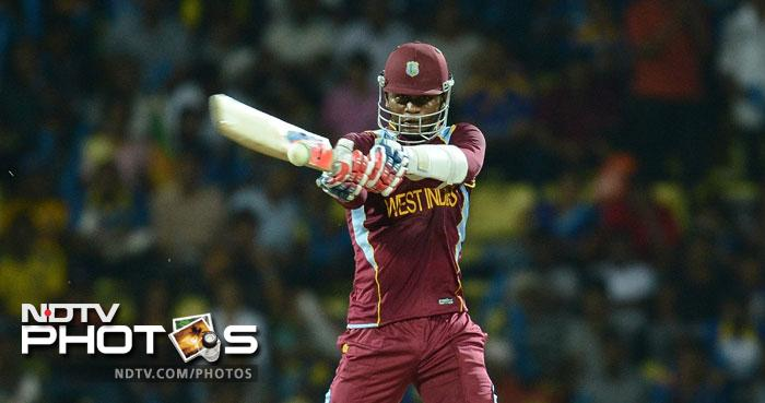 Marlon Samuels came to the recue as he hit 50 from 35 balls that contained 4 fours and 2 sixes. While he was at the crease there seemed hope of the Windies reaching a substantial total.