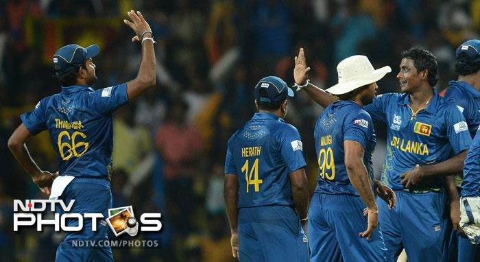 West Indies' weakness with spin was exposed right at the start as Johnson Charles failed to read Ajantha Mendis and fell in the fifth over.