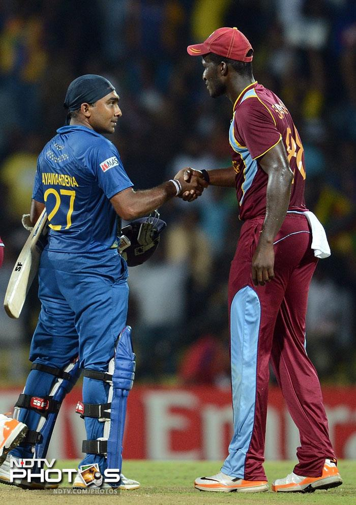 In the end the Lankans scripted a well polished 9 wicket win and are now on top of their game going into the last Super Eight clash with England. West Indies will have to start from scratch as they take on New Zealand next.