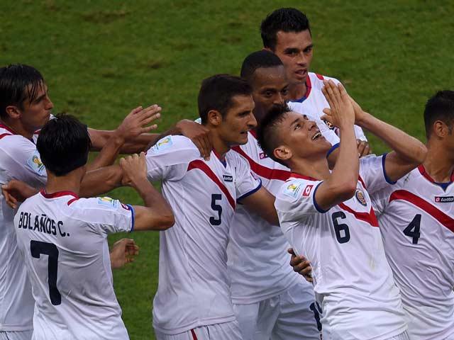 FIFA World Cup 2014: Costa Rica Stun Uruguay 3-1