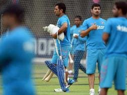 Photo : World Cup: MS Dhoni & Co. Gear up for Unpredictable West Indies on Festival of Colours