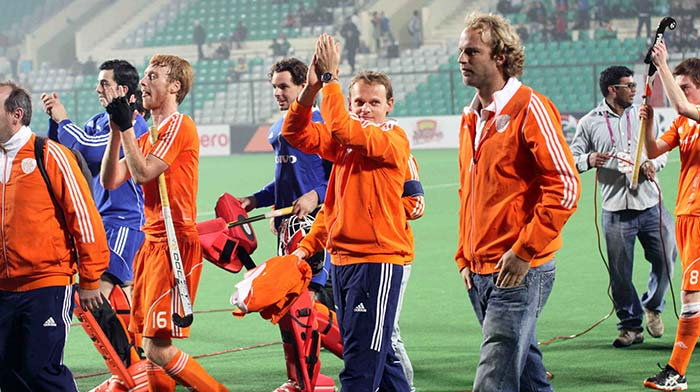Netherlands were too hot to handle for Malaysia as the contest was one-sided and over before it even began.