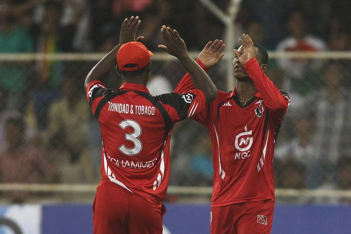 Trinidad responded well under pressure and picked up 4 quick wickets.