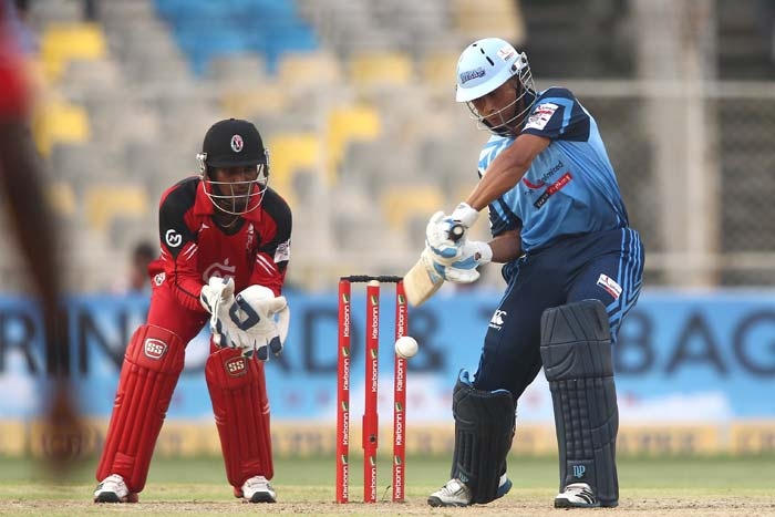 Henry Davids hit a good 42 off just 22 balls as he gave Titans the perfect start.