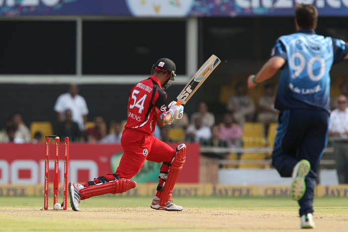 Trinidad lost Lendl Simmons as early as the second over of the innings.
