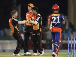 Photo : IPL: Hyderabad Edge Past Delhi by 6 Runs