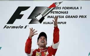 Sebastian Vettel Drives to Victory at Malaysian Grand Prix