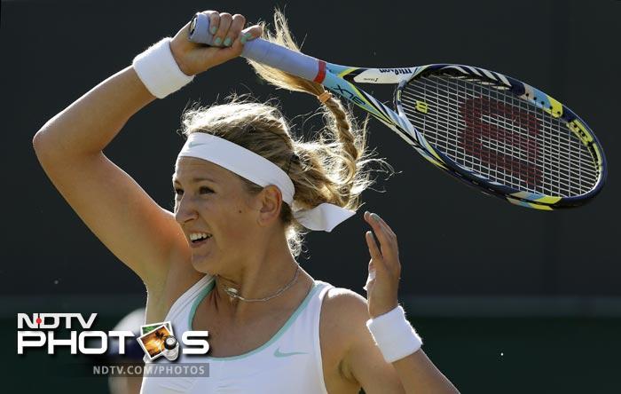 Victoria Azarenka dispatched Jana Cepelova swiftly in straight sets winning 6-3, 6-3.