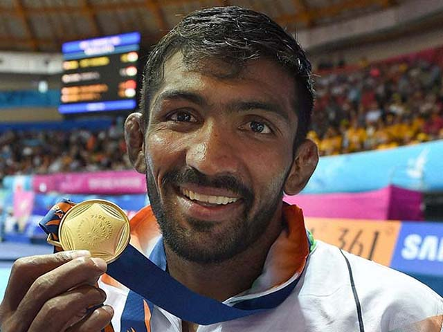 Asian Games: Yogeshwar Wins Historic Wrestling Gold
