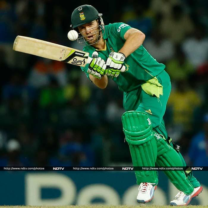 AB de Villiers may not have a great record against India, but his explosive batting can change a game in a matter of minutes.