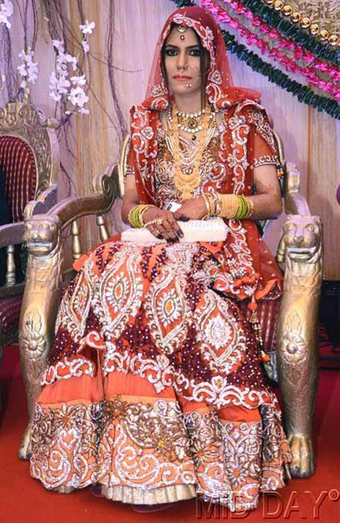 Yusuf Pathan's bride Afreen. (Photo credit: Mid-Day.Com)