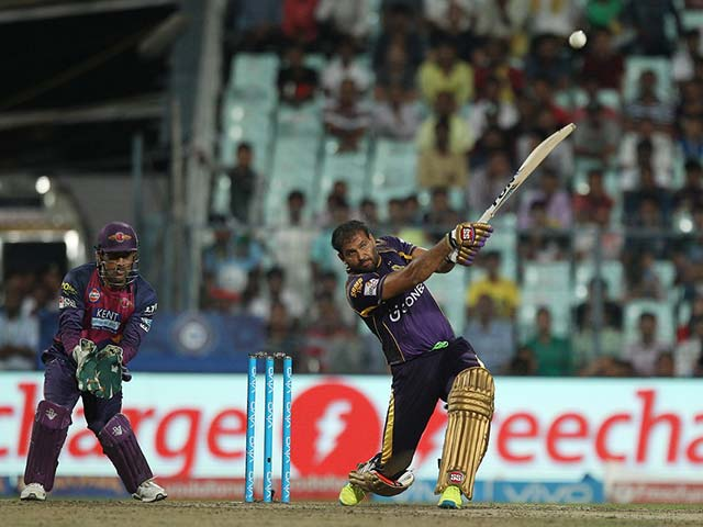 IPL: Yusuf Pathan Blitz Powers KKR to 2nd Spot With Win Over MS Dhoni's RPS