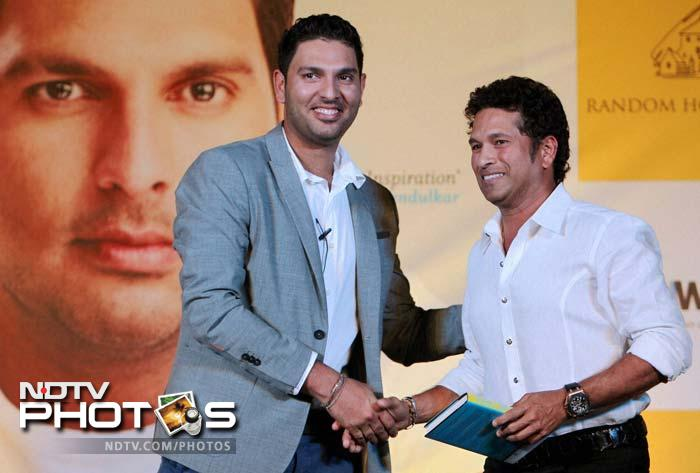 Sachin Tendulkar admitted that he was scared of breaking down in front of Yuvraj after meeting him during his cancer treatment.