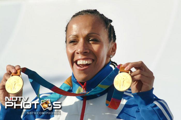 <b>Kelly Holmes:</b> It's no small achievement to win 1500m and 800m races at the age of 34. Kelly Holmes went to the Athens Olympics in 2004 after a forgettable season. She 1500m and 800m races to clinch gold medals. She later admitted to be suffering from clinical depression.