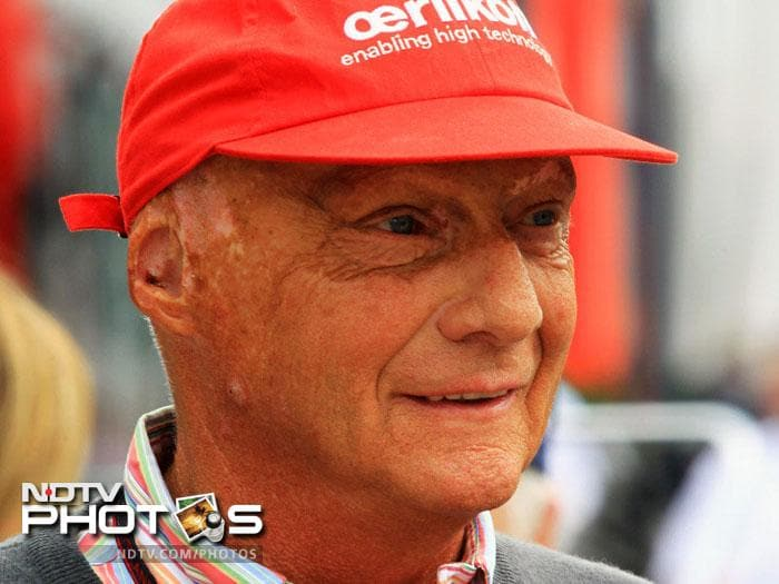 <b>Niki Lauda:</b> In 1976 at the German Grand Prix, Lauda's Ferrari deviated off the track, due to a rear suspension failure. It hit an embankment and rolled. The car burst into flames and he was trapped in the wreckage. Before he could be pulled out, he suffered severe burns to his head and inhaled hot toxic gases that damaged his lungs and blood. Although Lauda was conscious immediately after the accident, he lapsed into a coma later. He returned to the race circuit only six weeks later. He finished fourth at the Italian Grand Prix.