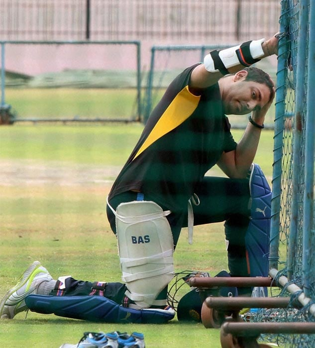 Yuvraj Singh has resumed training after his successful treatment of a rare germ cell cancer. And he is making a slow but steady progress. (PTI Photo)