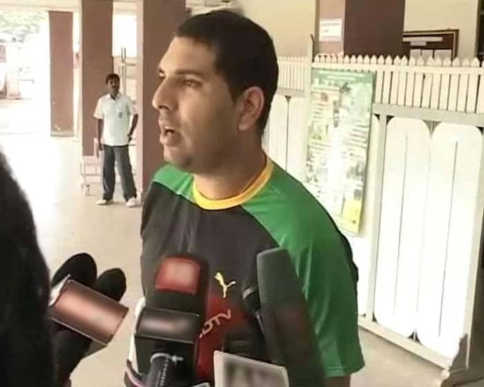 Yuvraj, who played a crucial role in India's World Cup win last year, is targeting the World T20 in September for his comeback, and is rehabilitating at the National Cricket Academy in Bangalore.