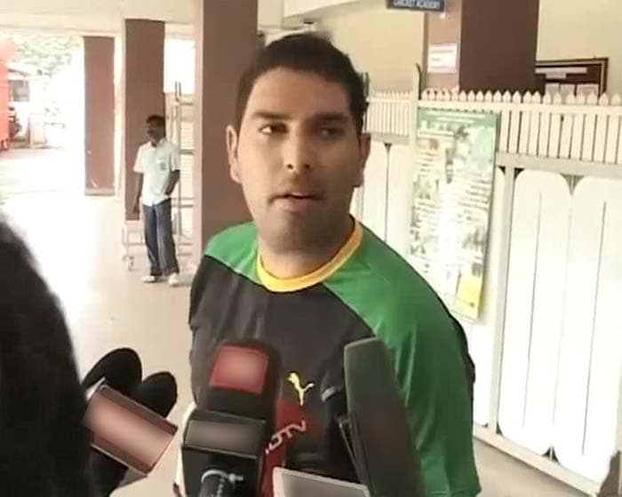 """But the flamboyant batsman added that a few minutes of training had him tired. """"It was not a bad session, for the first time after about six months. I got tired after about 15 minutes but I am sure every day will be a better day,"""" Yuvraj said."""