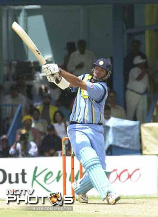 <b>84 vs Australia in 2000:</b> This is when the world got to know the potential of Yuvraj Singh. In only his second ODI and a month before his 18th birthday, Yuvraj unleashed himself against world champions Australia in the ICC Knock Out and made 84 runs. His innings helped India see Australia out of the tournament.