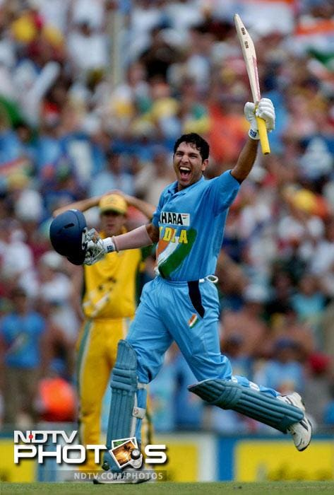 <b>139 vs Australia in 2004:</b> During the 2003-2004 tri-series in Australia, India were playing Australia in the 7th match. Electing to bat, India were 80 for 3 at one stage. That's when Yuvraj and VVS Laxman joined hands to bat through the innings. Both these batsmen scored centuries While Laxman was playing a patient knock, Yuvraj was at his aggressive best. He scored 139 runs before being bowled out by Brett Lee. Although India lost the match, this remains one of the best knocks from the southpaw.
