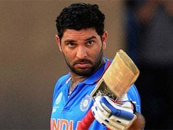 Photo : Yuvraj Singh's top 12 knocks