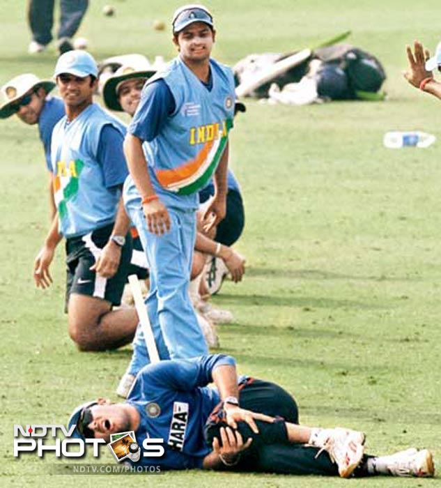 Kho-Kho can be painful. Yuvraj found out when he twisted his knee during a fun match during the 2006 edition of the ICC Champions Trophy. The game took maximum damage though as it was removed from the training session of the national team.