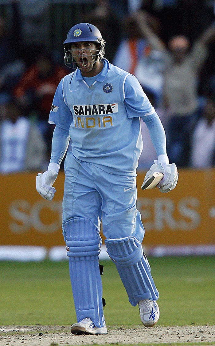 2002 continues to be best remembered for Yuvraj' stunning knock with Mohammad Kaif that gave India a win against England in the Natwest Series. He hit 69 off 63 to help Kaif (87) take India to a win from a rather impossible situation of 146/5 chasing 325.