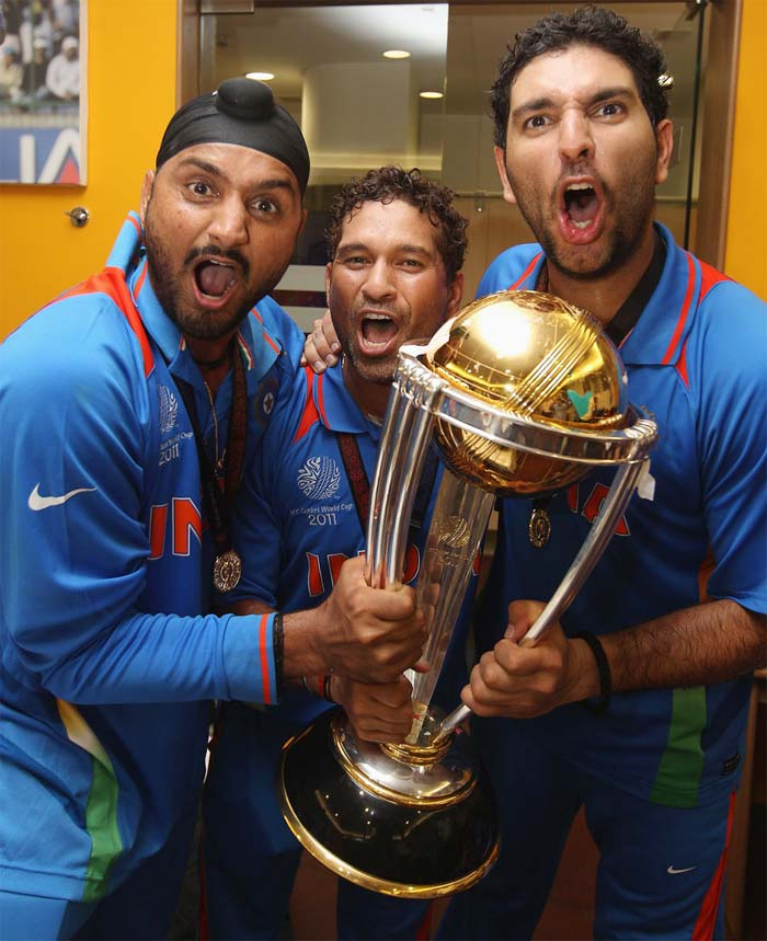 In 2011, Yuvraj shrugged his poor form and powered his team to the World Cup title win. He was adjudged the Man of the Tournament. Little did he know then that he was staring at the biggest battle of his life. But as they say All's Well That Ends Well!