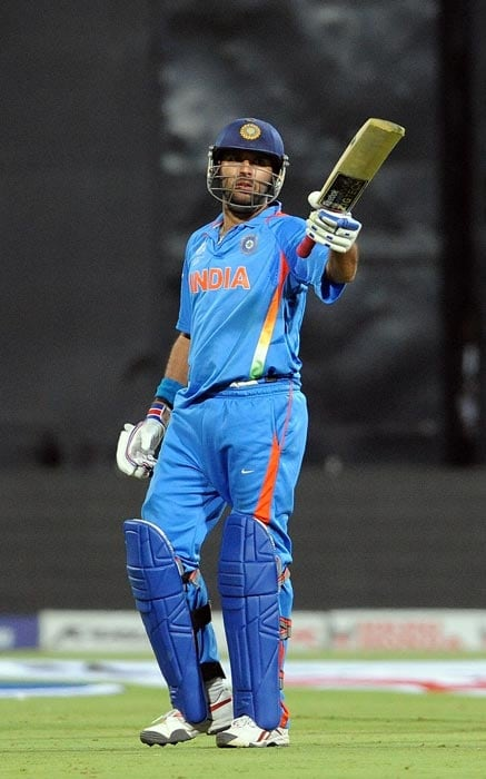 Many would have found his fifty against Ireland slow and 'so-not-Yuvraj', but this flamboyant batsman curbed his aggression to play an anchor's role and take India home. He found gaps, took singles and rotated the strike. When India lost quick wickets of Sachin Tendulkar and Virat Kohli, he combined with skipper MS Dhoni to steady the innings and calm the Indian nerves. During his knock of 50 off 75 balls, he hit only three fours. (Getty Images)
